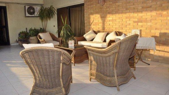 شقة ٤٥٠ مء بالمعادي الجديدة. ٦ غرف + ٣ حمام + بلكو
