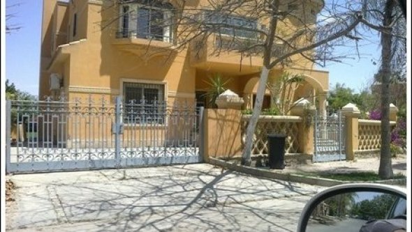 villa to rent in Cairo compound palm hills October