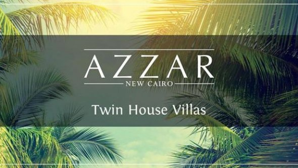 property in New Cairo City twin house at Azzar