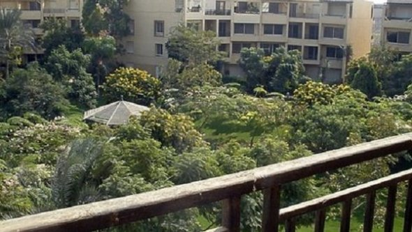 Apartment in Compound City View for rent furnished