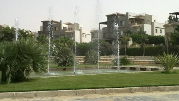 apartment for rent ground floor in palm hills, Cairo
