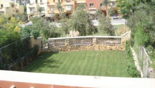 rent villa in compound palm hills October city, Cairo