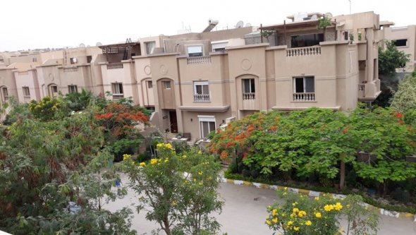 villa town house for rent furnished at 6 October, Cairo