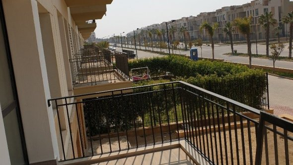 New apartment for rent inside compound Westown, Cairo