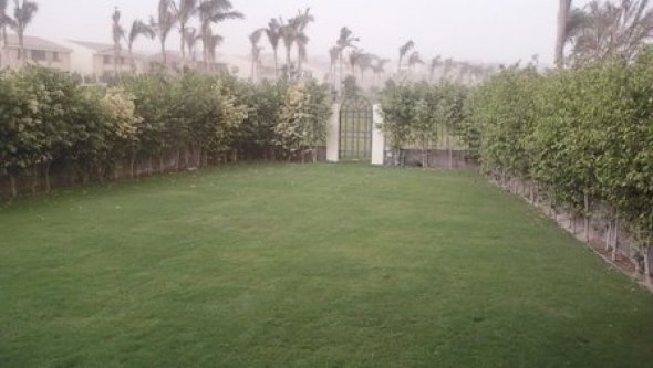 villa with swimming pool for rent in 6 October Cit, Cairo