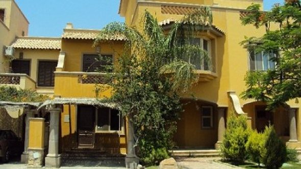 villa town house for rent in palm hills October, Cairo