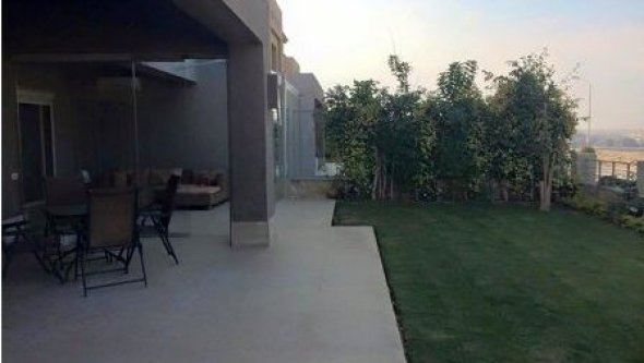 apartment ground floor for rent in Palm Hills Octo, Cairo