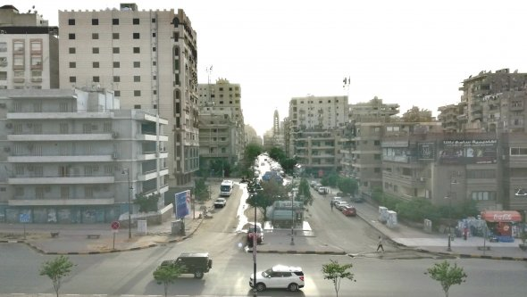 A panoramic open view apartment, Cairo