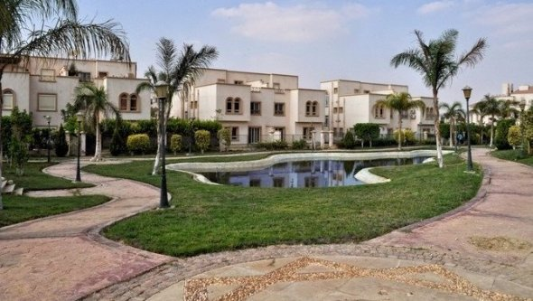 villa for rent in Sheikh zayed City compound Green, Cairo