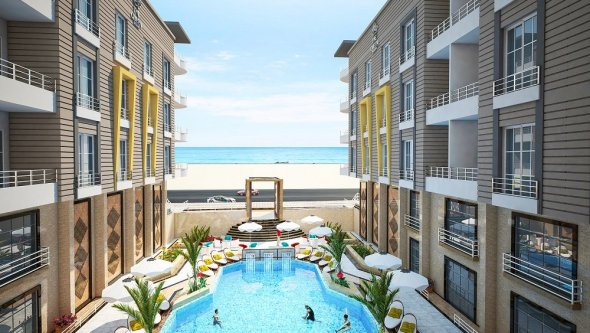 Sea View apartment for sale in Hurghada