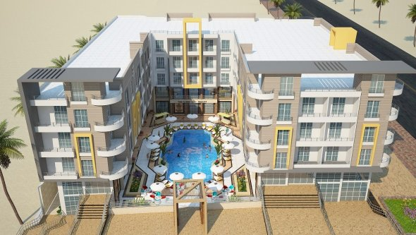 amazing apartment for sale front beach in hurghada