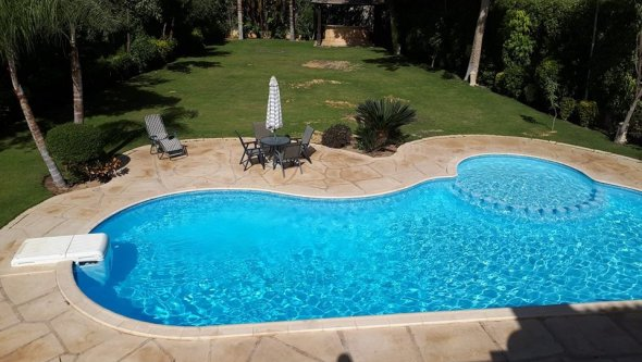 Duplex for rent furnished with swimming pool